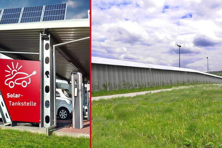 Ökologische Lärmschutzwand Rau R3 Wenn der Efeu das E-Fahrzeug ...