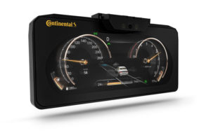 3D-Display Continental HMC Genesis GV-80 seriendisplay
