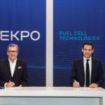 Brennstoffzellen-Ekpo-Vertragsunterzeichnung