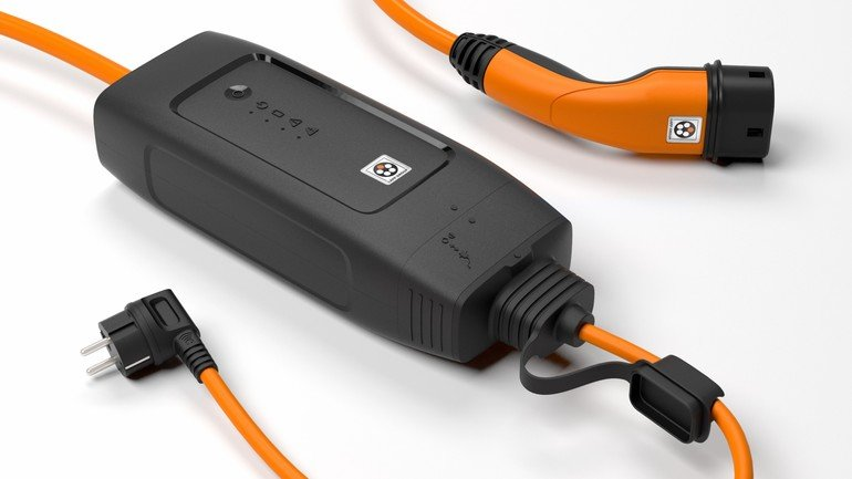 Elektroauto per Haushaltssteckdose laden Lapp-Ladesystem liefert bis ...