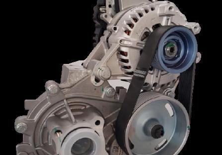 Das_48-V-eAccess-System_von_Valeo_besteht_aus_einem_Elektromotor,_einem_Getriebe_und_einem_Inverter